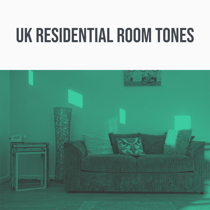 UK Residential Room Tones