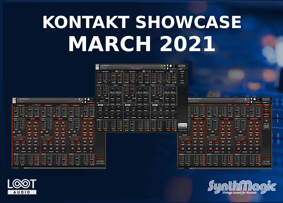 Kontakt Product Showcase March 2021