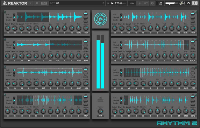 Reaktor Rhythm 2