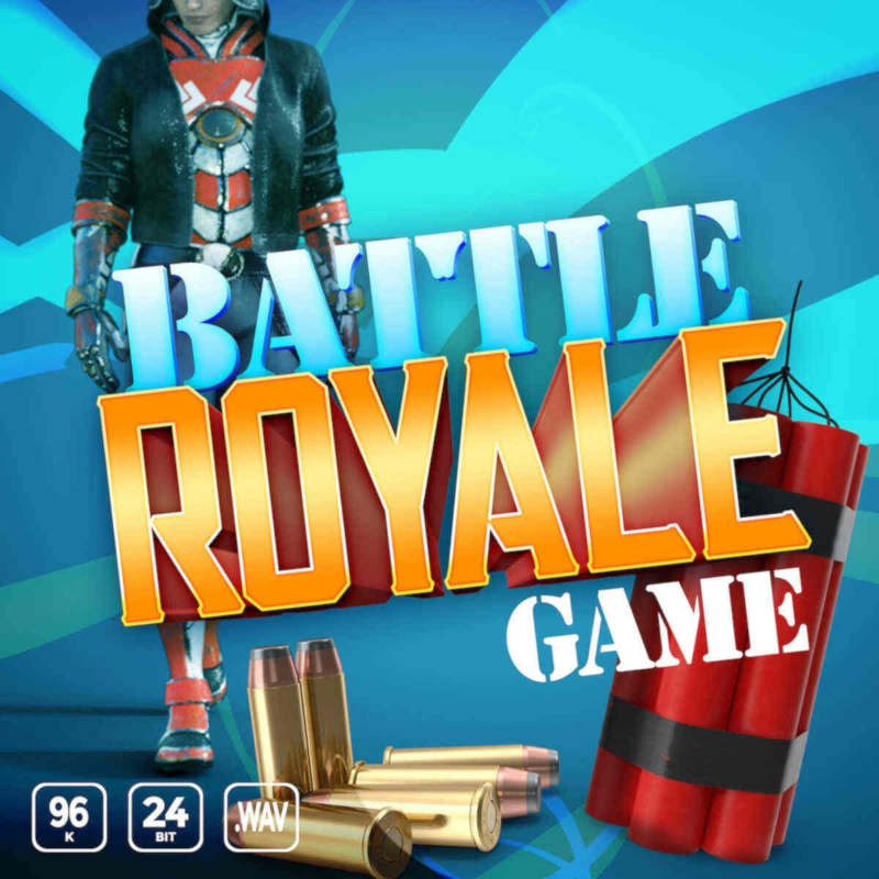 Battle Royale Game – FPS Sound Effects Library