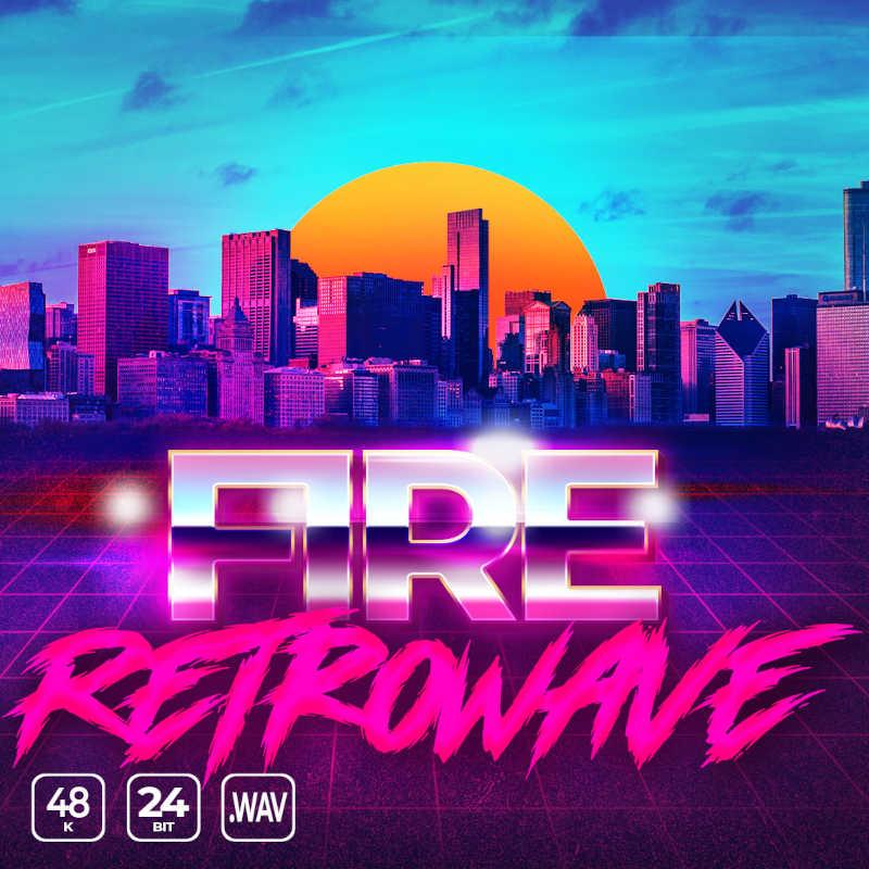 Fire Retrowave