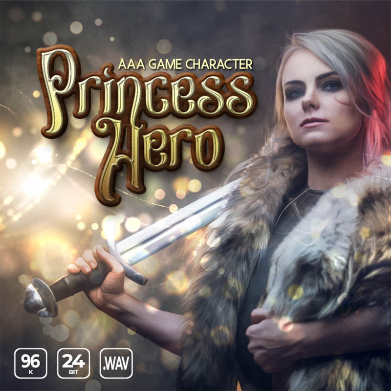 AAA Game Character Princess Hero