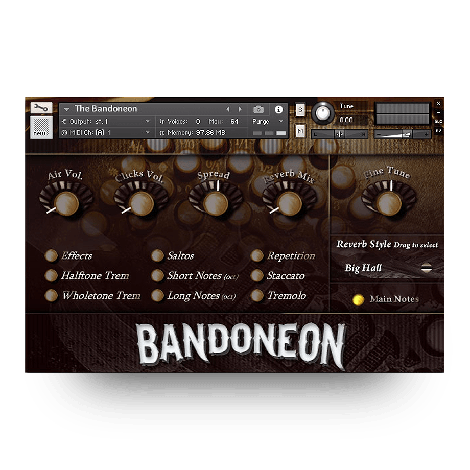 The Bandoneon