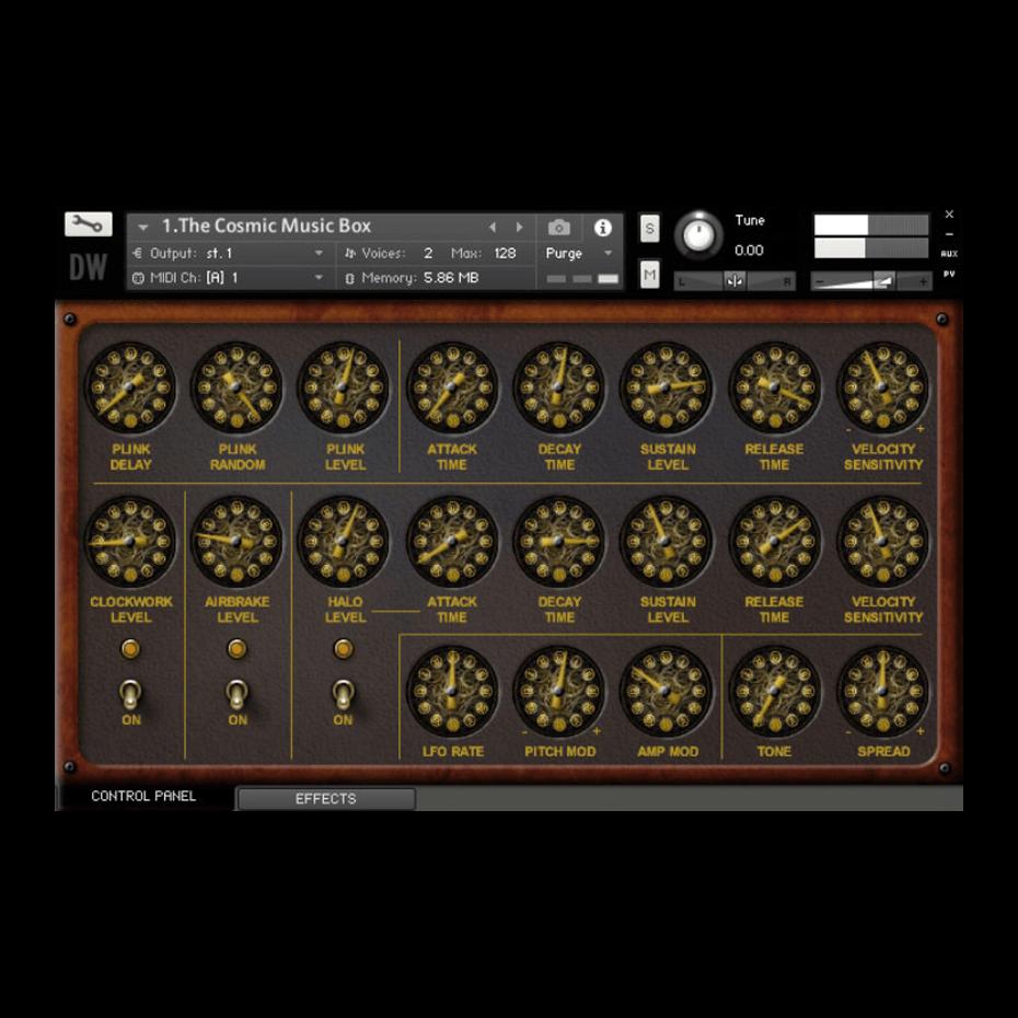 The Cosmic Music Box