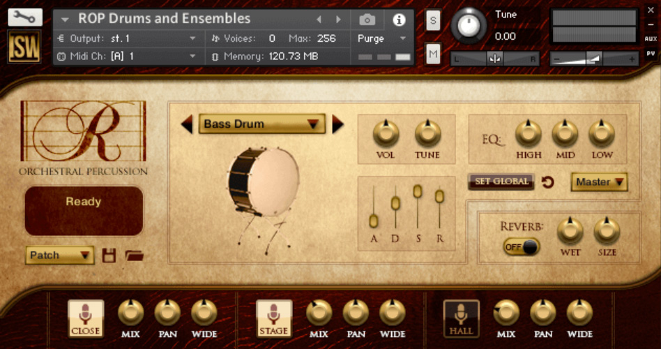 Supporting image for Rhapsody: Orchestral Percussion