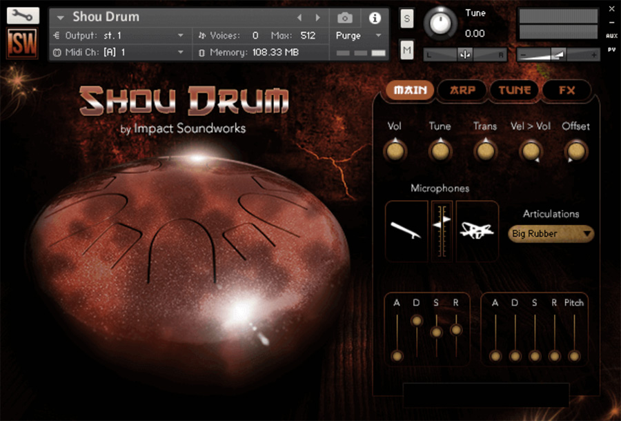 Supporting image for Shou Drum