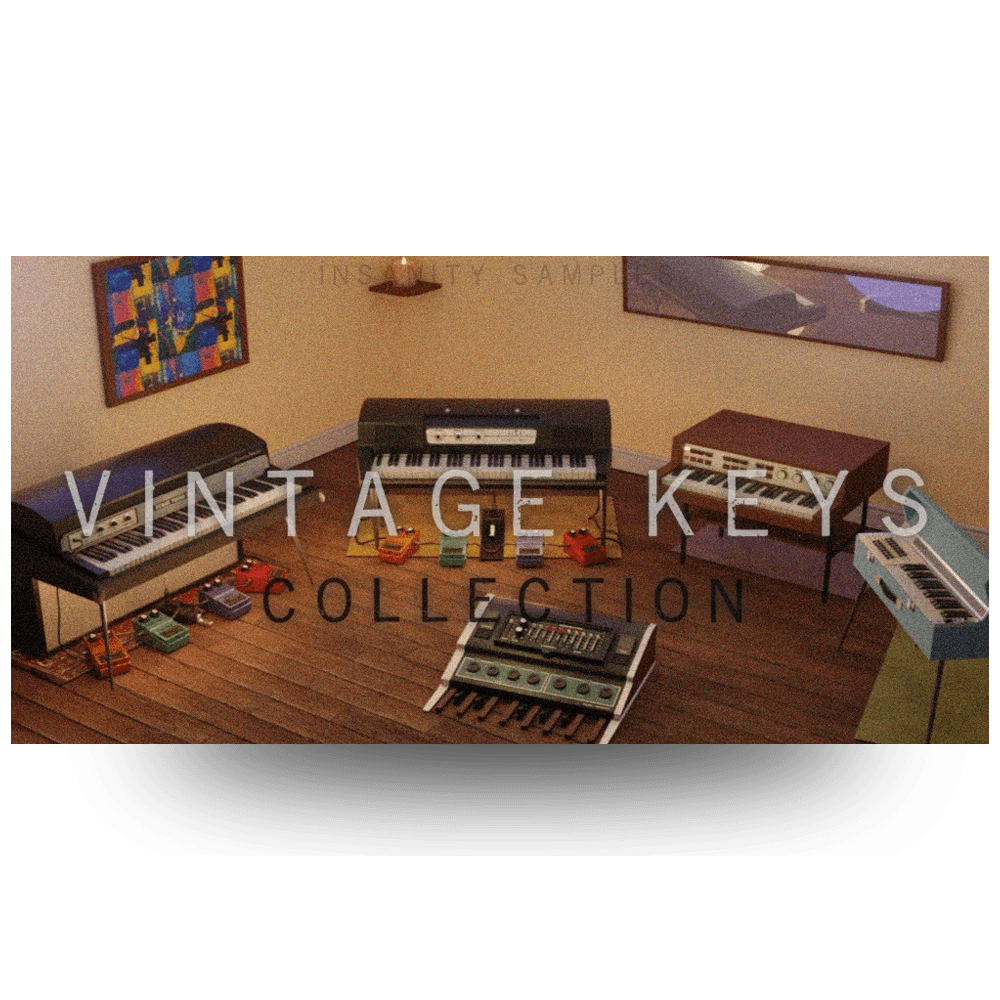 Vintage Keys Collection
