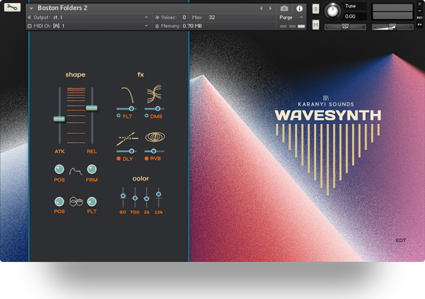 Supporting image for Wavesynth