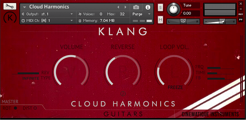 Supporting image for Guitars: Cloud Harmonics