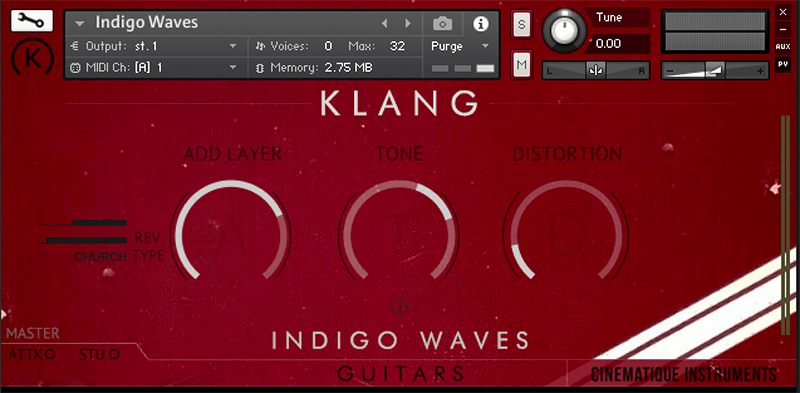 Supporting image for Guitar - Indigo Waves - Free