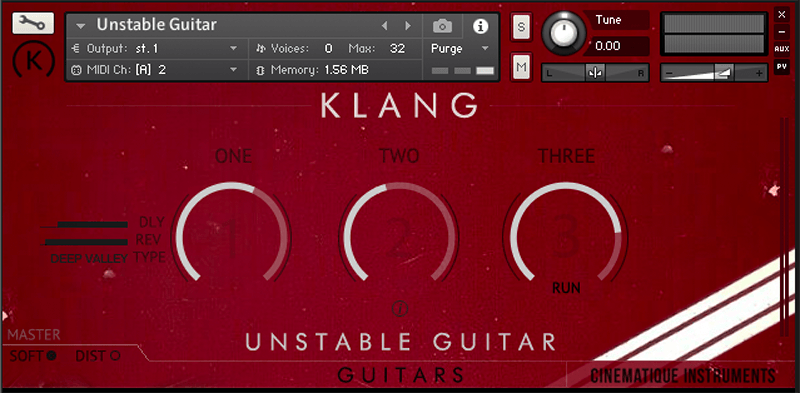 Supporting image for Guitars: Unstable Guitars