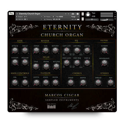 Eternity Church Organ