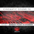 Cinematic Sound FX Volume 1: Horror Piano Glissandos