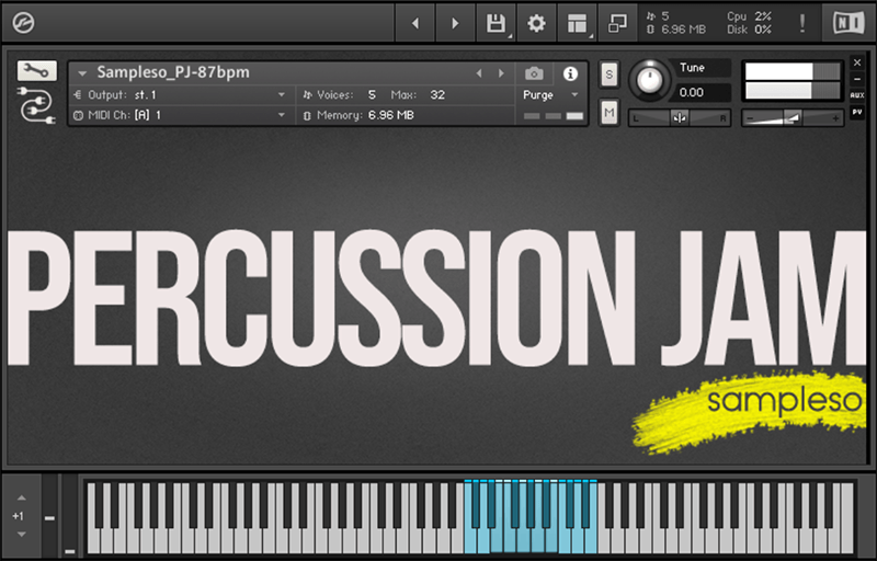 Supporting image for Percussion Jam