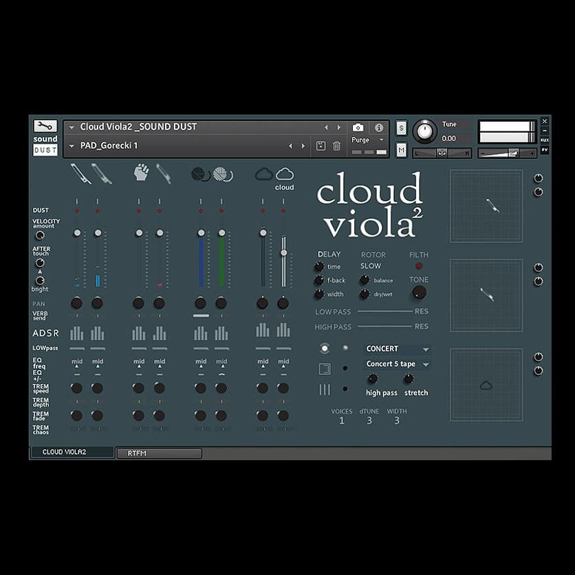 Cloud Viola