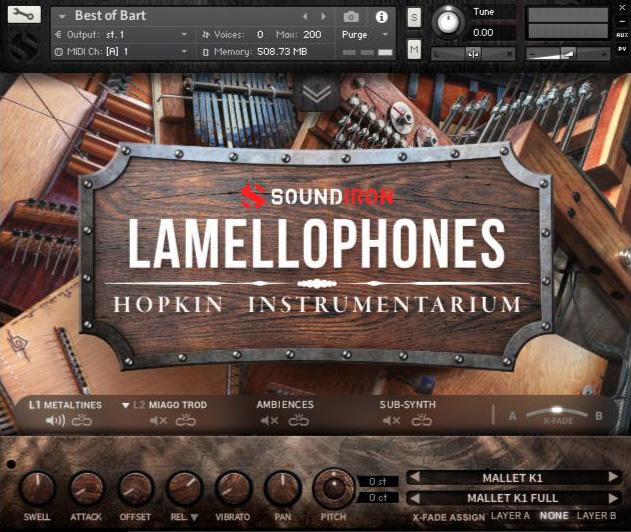 Supporting image for Hopkin Instrumentarium: Lamellophones