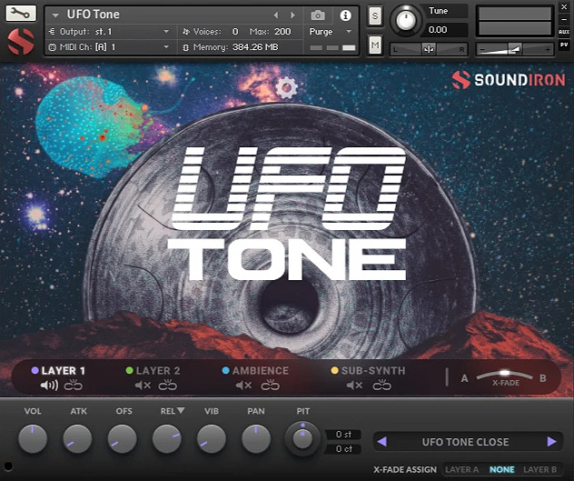 Supporting image for UFO Tone