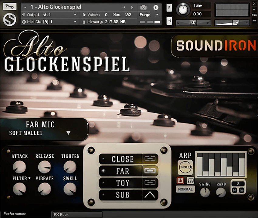 Supporting image for Alto Glockenspiel