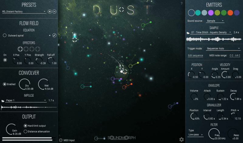 Supporting image for Dust