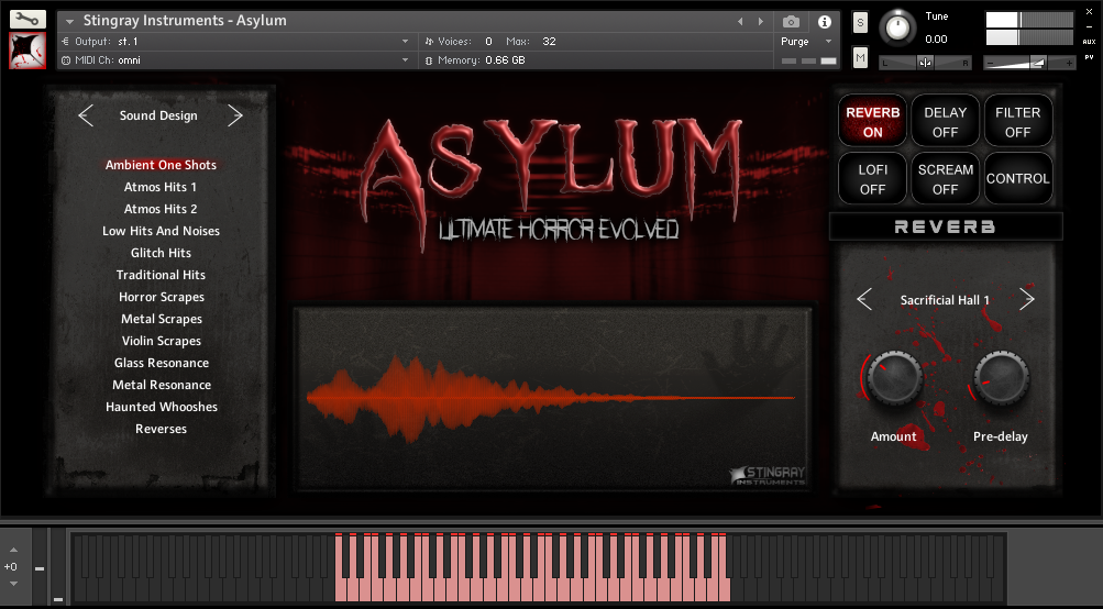 Supporting image for Asylum - Ultimate Horror Evolved
