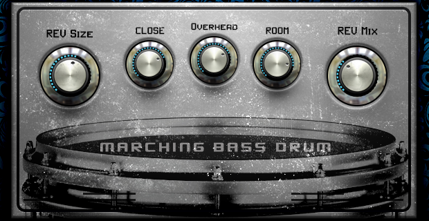 Image supporting MARCHING BASS DRUM