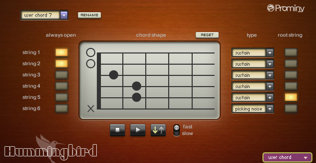 Image supporting CHORD EDITOR VIEW