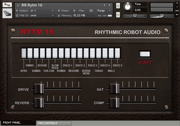 Image supporting RYTM 16