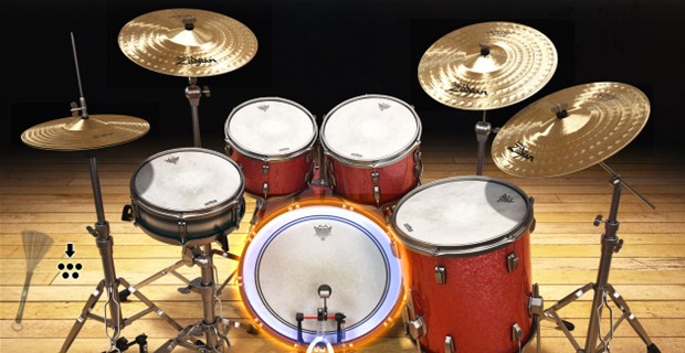 Image supporting DRUM KIT VIEW