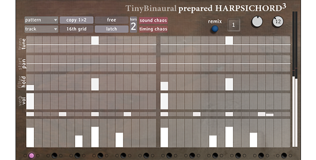 Image supporting Tiny Binaural Prepared Harpsichord³
