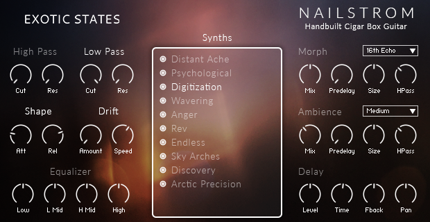 Image supporting SYNTH PAGE