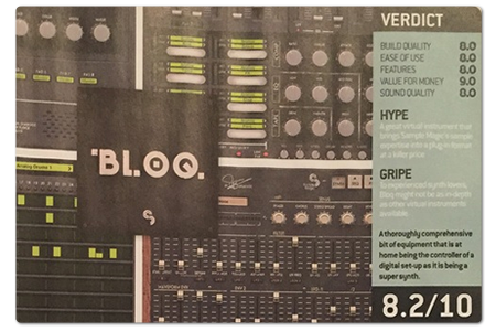 Image supporting DJ Magazine Review